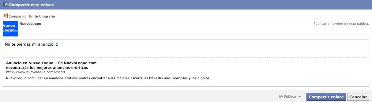 Facebook, nuevoloquo