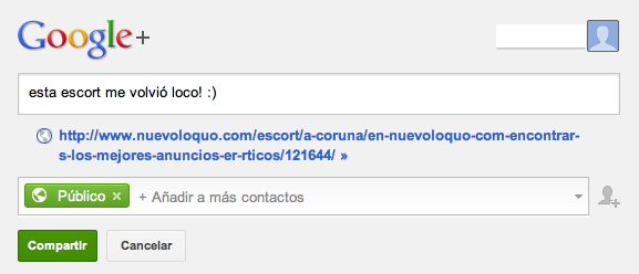 Google Plus, NuevoLoquo