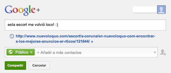 Google Plus, NuevoLoquo