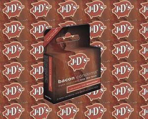 condones con sabor a beicon