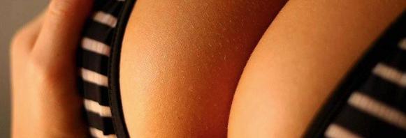 Los senos de mujer
