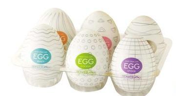 Los huevos masturbadores y sus texturas