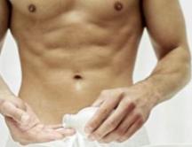 Higiene en los genitales masculinos