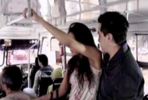 Sexo en transporte público