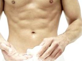 Higiene genitales masculinos