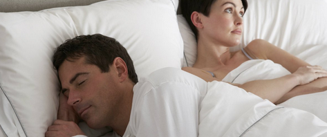 Dormido en el sexo