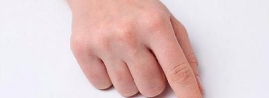 Un dedo
