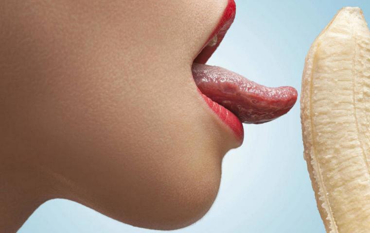 Saliva como lubricante: poco recomendado